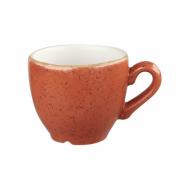 Tazza Caffè Arancio 10 cl Stonecast Churchill
