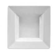 Piatto Fondo Quadrato Bianco
