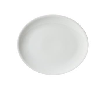 Piatto Ovale Siviglia Bianco