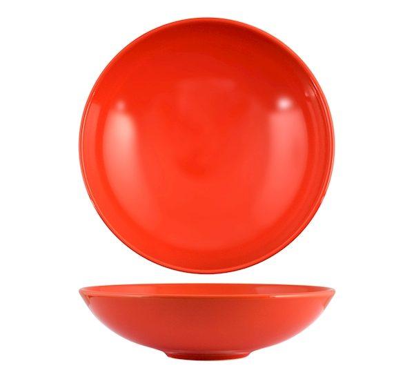 Piatto Fondo Rosso 20 cm