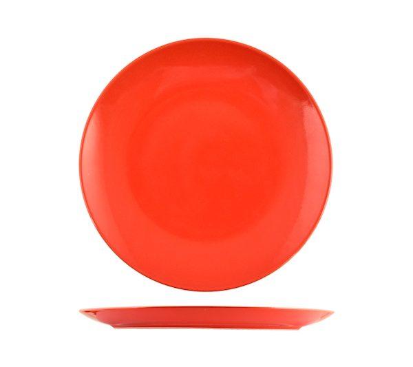 Piatto Frutta Rosso 20 cm