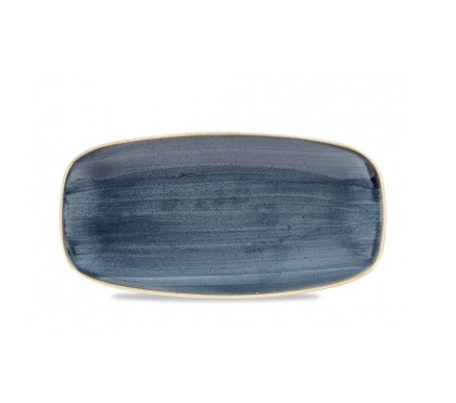 Vassoio Rettangolare Stonecast Churchill Blueberry
