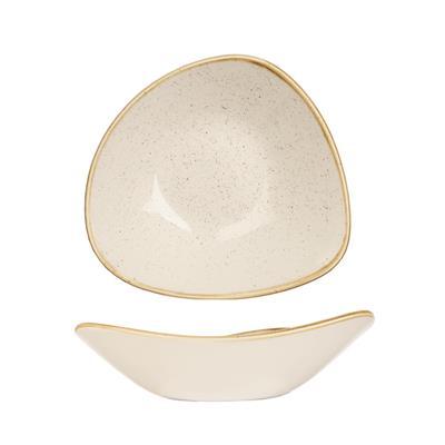 Piatto Triangolare Bianco 23.5 cm