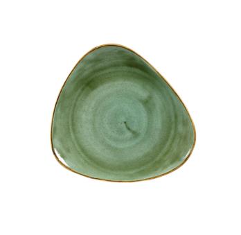 Piatto Piano Triangolare Samphire Verde 31 cm