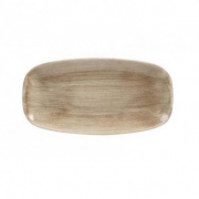 Vassoio Rettangolare Stonecast Churchill Marrone