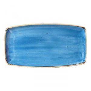 Vassoio Rettangolare Stonecast Churchill Blu