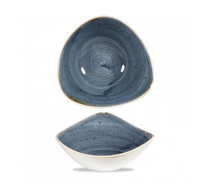 Piatto Triangolare Blueberry 23.5 cm