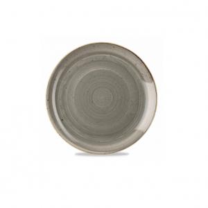 Piatto Pane Grigio 16 cm Stonecast Churchill