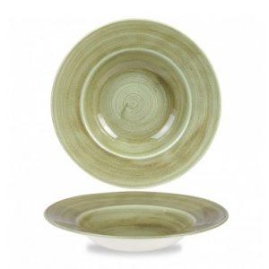 Piatto Pasta Verde 28 cm
