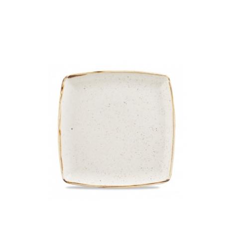 Piatto Quadrato Bianco