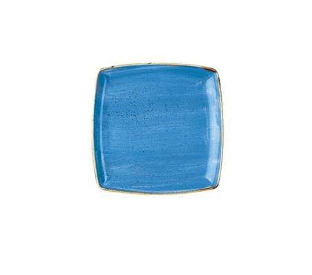 Piatto Quadrato Blu