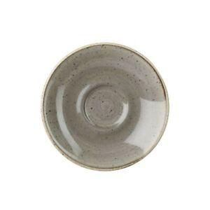 Piattino per Tazza Caffè Grigia 11.8 cm Stonecast Churchill