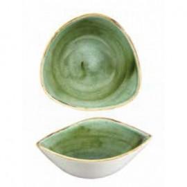Piatto Triangolare Samphire Verde 23.5 cm