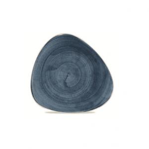 Piatto Piano Triangolare Blueberry 31 cm Stonecast Churchill