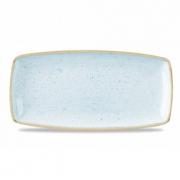 Vassoio Rettangolare Stonecast Churchill Azzurro
