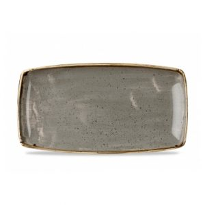 Vassoio Rettangolare Stonecast Churchill Grigio
