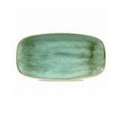Vassoio Rettangolare Stonecast Churchill Samphire Verde