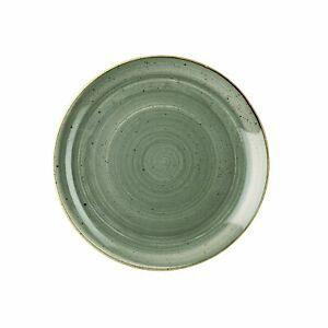 Piatto Piano Verde 29 cm Stonecast Churchill