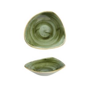 Piatto Triangolare Samphire Verde