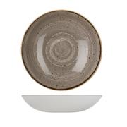 Piatto Fondo Coupe Grigio 31 cm Stonecast Churchill