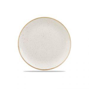 Piatto Piano Bianco 32 cm Stonecast Churchill