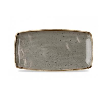 Vassoio Rettangolare Stonecast Churchill Grigio 35×18 cm