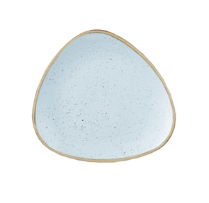 Piatto Piano Triangolare 26,5 cm Azzurro