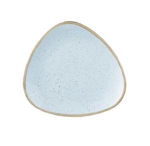 Piatto Pane Triangolare Azzurro 19 cm Stonecast Churchill