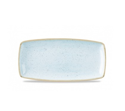 Vassoio Rettangolare Stonecast Churchill Azzurro 35×18 cm