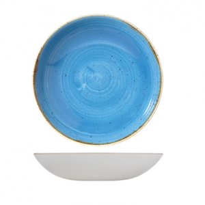 Piatto Fondo Coupe Blu 31 cm Stonecast Churchill