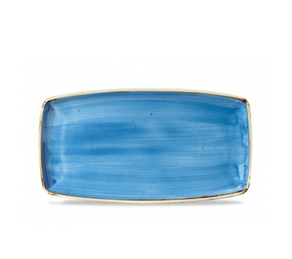 Vassoio Rettangolare Stonecast Churchill Blu 35×18 cm