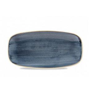 Vassoio Rettangolare Stonecast Churchill Blueberry 35x18 cm