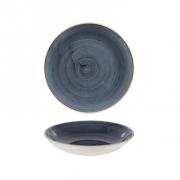 Piatto Fondo Coupe Blueberry 24,8 cm Stonecast Churchill