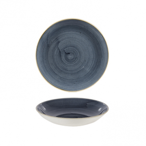 Piatto Fondo Coupe Blueberry 24,8 cm Stonecast Churchill