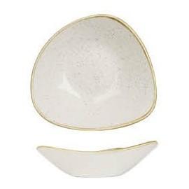 Piatto Triangolare Bianco 18,5 cm