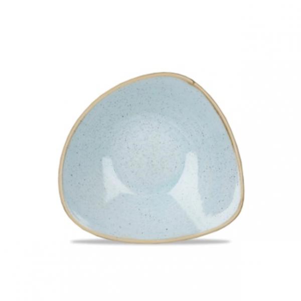Piatto Triangolare Azzurro 18,5 cm