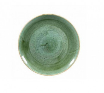 Piatto Piano Samphire Verde 28.8 cm Stonecast Churchill