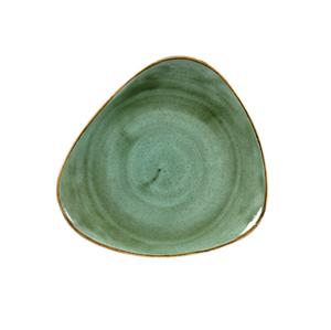 Piatto Triangolare 26,5 cm Samphire Verde