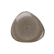 Piatto Pane Triangolare Grigio 26,5 cm Stonecast Churchill