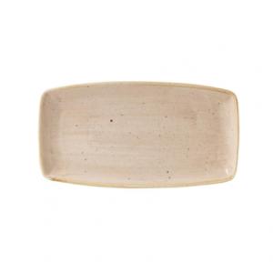 Vassoio Rettangolare Stonecast Churchill Crema 35x18 cm