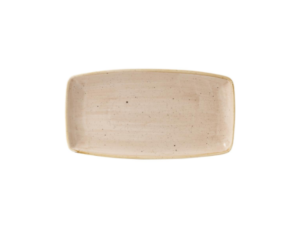 Vassoio Rettangolare Stonecast Churchill Crema 35×18 cm