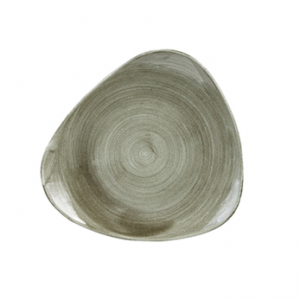 Piatto Pane Triangolare Verde 22,9 cm Stonecast Churchill